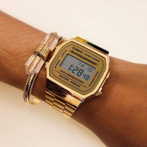 9bc5606c1443d Relógio Casio Dourado - CAPICHE - Loja online de Moda e Acessórios