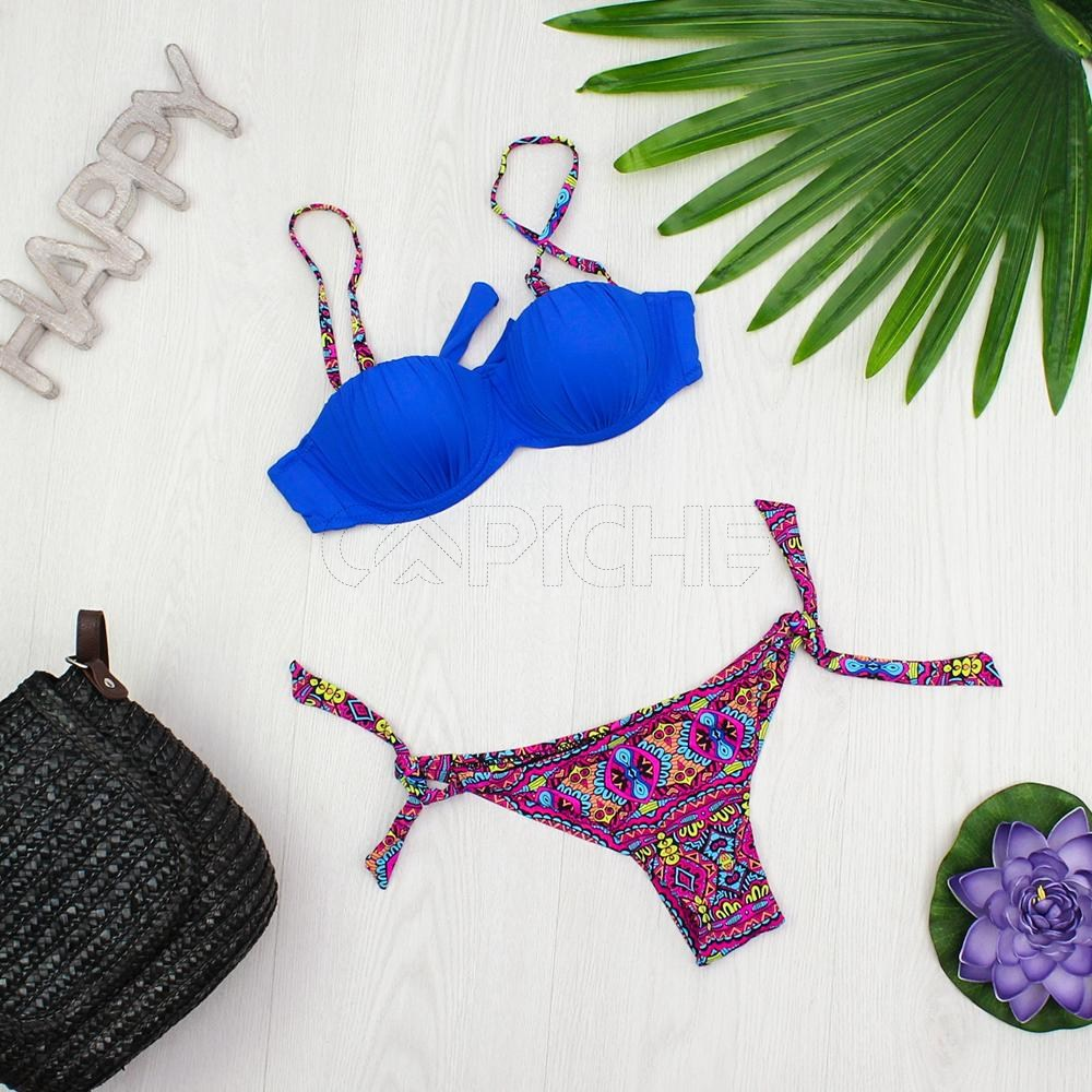 88d8e2d84 Bikini Aremo Azul - CAPICHE - Loja online de Moda e Acessórios