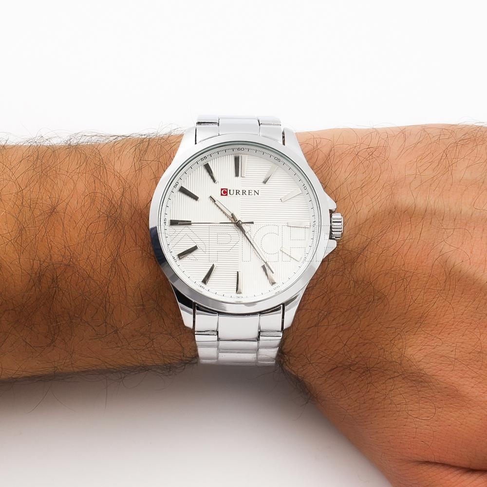 89dfe835acc8f Relógio Aço Derbi silver - CAPICHE - Loja online de Moda e Acessórios