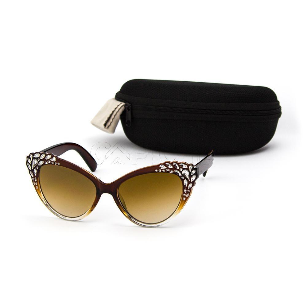 Óculos de sol Adison Castanho - CAPICHE - Loja online de Moda e ... 1369b5d46a