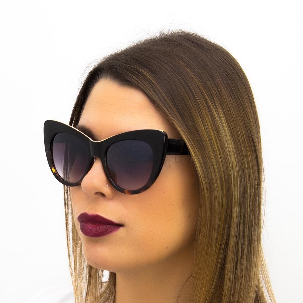 a5cf63330 Óculos Lotus Preto turtle - CAPICHE - Loja online de Moda e Acessórios
