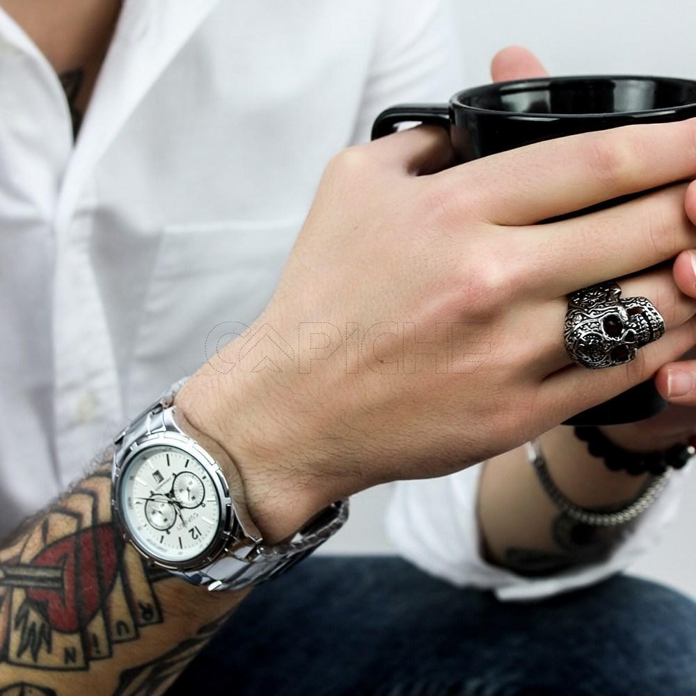 95a4450b517f9 Relógio Trevo - CAPICHE - Loja online de Moda e Acessórios