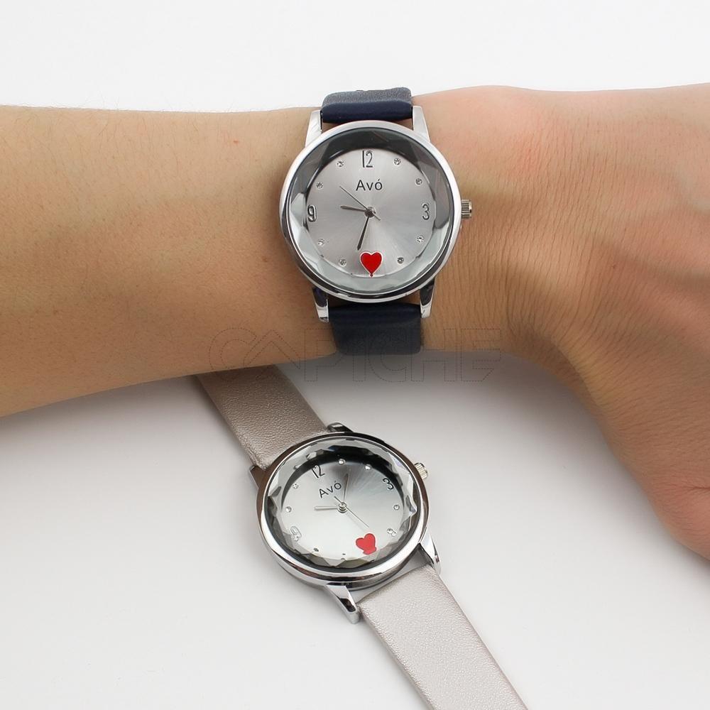 cceda0324d780 Relógio Avó prateado - CAPICHE - Loja online de Moda e Acessórios