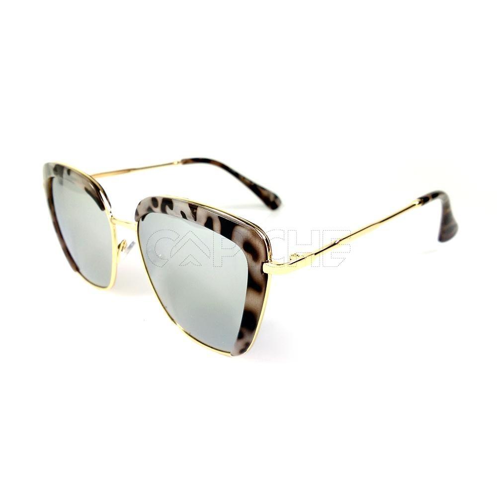 2eb2d2a92 Oculos de sol Square Turtle Cinza - CAPICHE - Loja online de Moda e ...