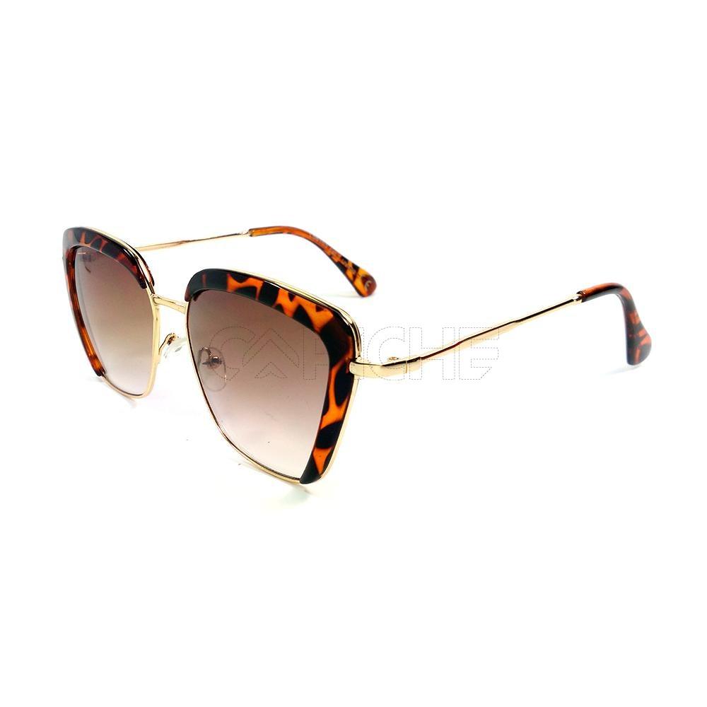 28550bf79 Oculos de sol Square Turtle Castanho - CAPICHE - Loja online de Moda ...