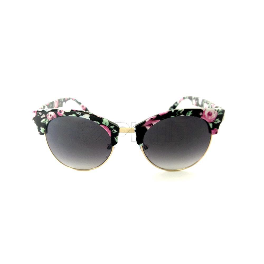 1f6cc1bc289dc Óculos de Sol Clubmaster Flowers. Óculos de Sol Clubmaster Flowers. COMPRAR