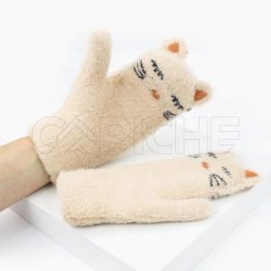 Luva Gato  Cru