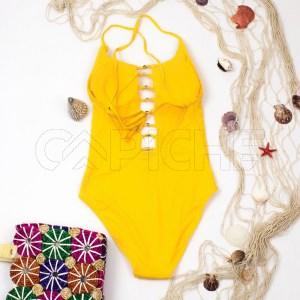 Fato de Banho Buzios Amarelo