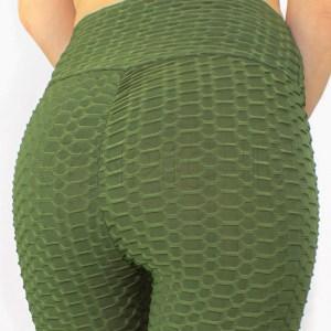 Leggings de Cintura Alta Verde