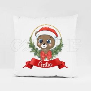 Almofada Nome com Animais Natal