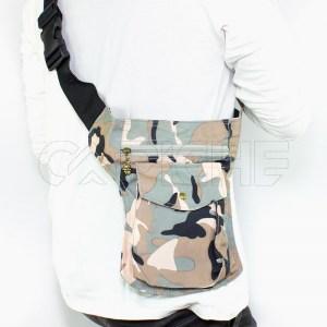 Bolso de cintura militar Cru