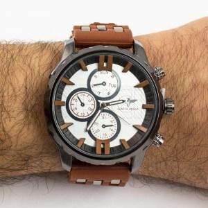 Relógio Torreta Castanho