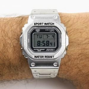 Relógio Digital Acium Silver