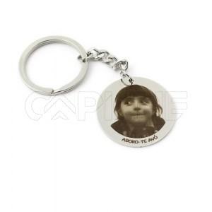 Porta chaves com fotografia