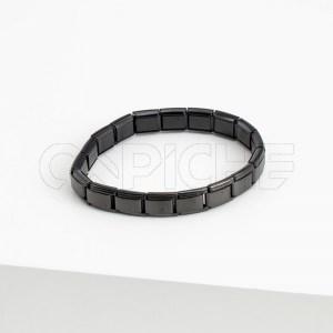 Pulseira em aço Simbol Noir
