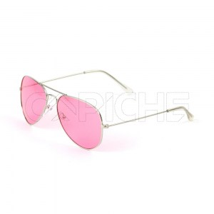Óculos Aviator Colors PinkRed