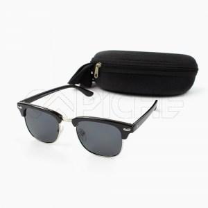 Óculos de sol Polarizado ClubMaster Black