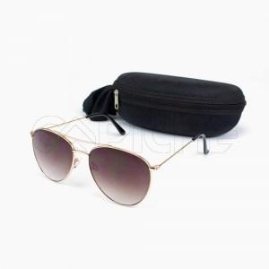 Óculos de sol Aviator Panamá Castanho