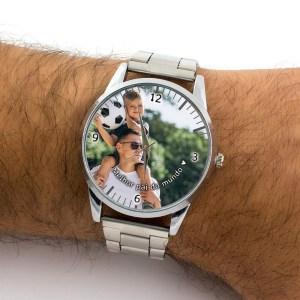 Relógio Personalizado com Foto Masculino