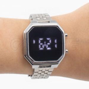 Relógio Digital Marla Prateado