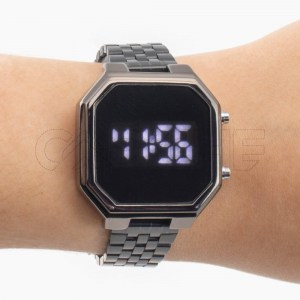 Relógio Digital Marla Preto