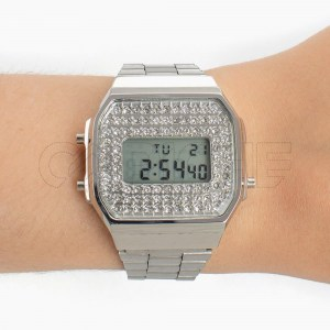 Relógio Digit Shine Silver