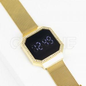 Relógio Seri Táctil Gold