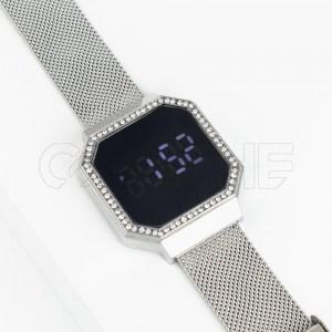 Relógio Seri Táctil Prata