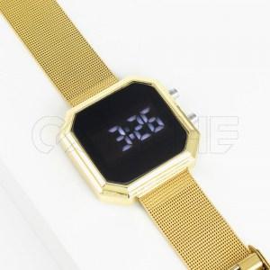 Relógio Digital Seri Gold
