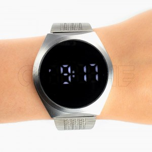 Relógio Digital Perfect Silver
