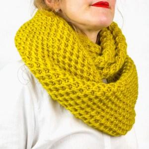 Gola Lana amarela
