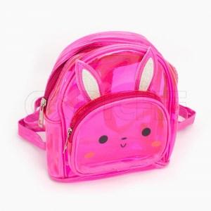 Mochila Criança Pikachu Pink