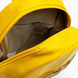 Mochila Risquinhas amarelo