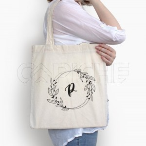 Saco Tote Bag Iniciais