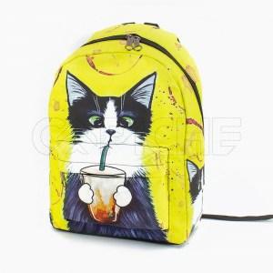 Mochila Sr Gato Amarelo