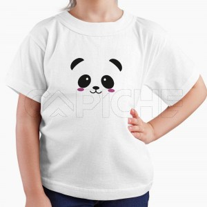 Tshirt Criança Panda