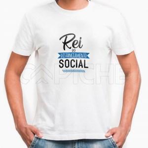 Tshirt Homem Rei Distanciamento Social