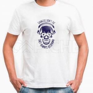 Tshirt Homem Respawn