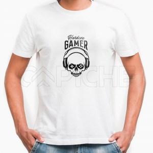 Tshirt Homem Harcore Gamer