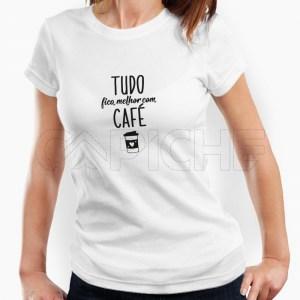 Tshirt Senhora Café