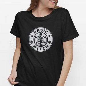 Tshirt Senhora Basic Witch