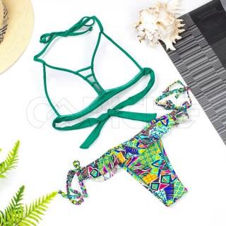 Bikini Morrocoy Verde