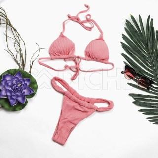Conjunto bikini Diablo Rosa
