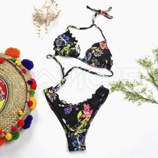 Conjunto bikini Franzi Preto