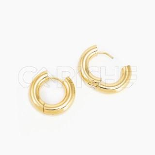 Argola Macive Gold