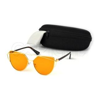 Óculos Estéticos Lovepunch Clear Orange