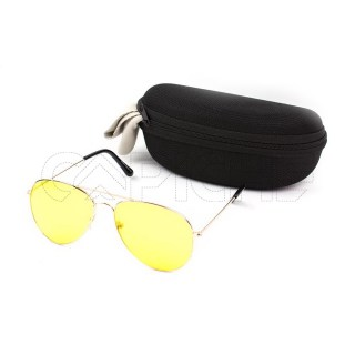 Óculos de Sol Aviator Colors Yellow