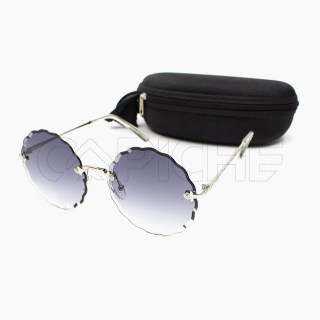 Óculos de sol Xsaran Round Grey