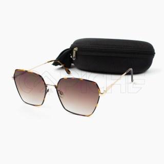 Óculos de sol Diane castanho