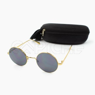 Óculos de sol Roundy Dourado